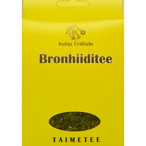 Herbal tea from bronchitis 20g.